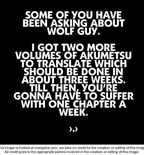 Wolf Guy - Ookami no Monshou 14 Page 1