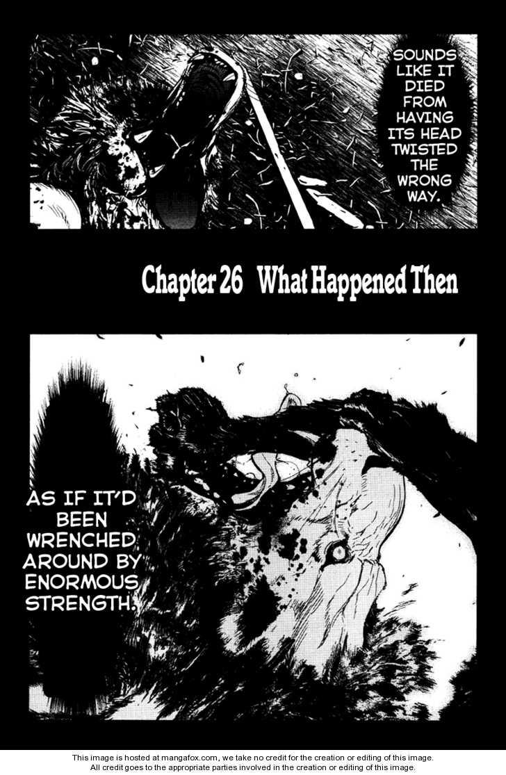Wolf Guy - Ookami no Monshou 26 Page 2