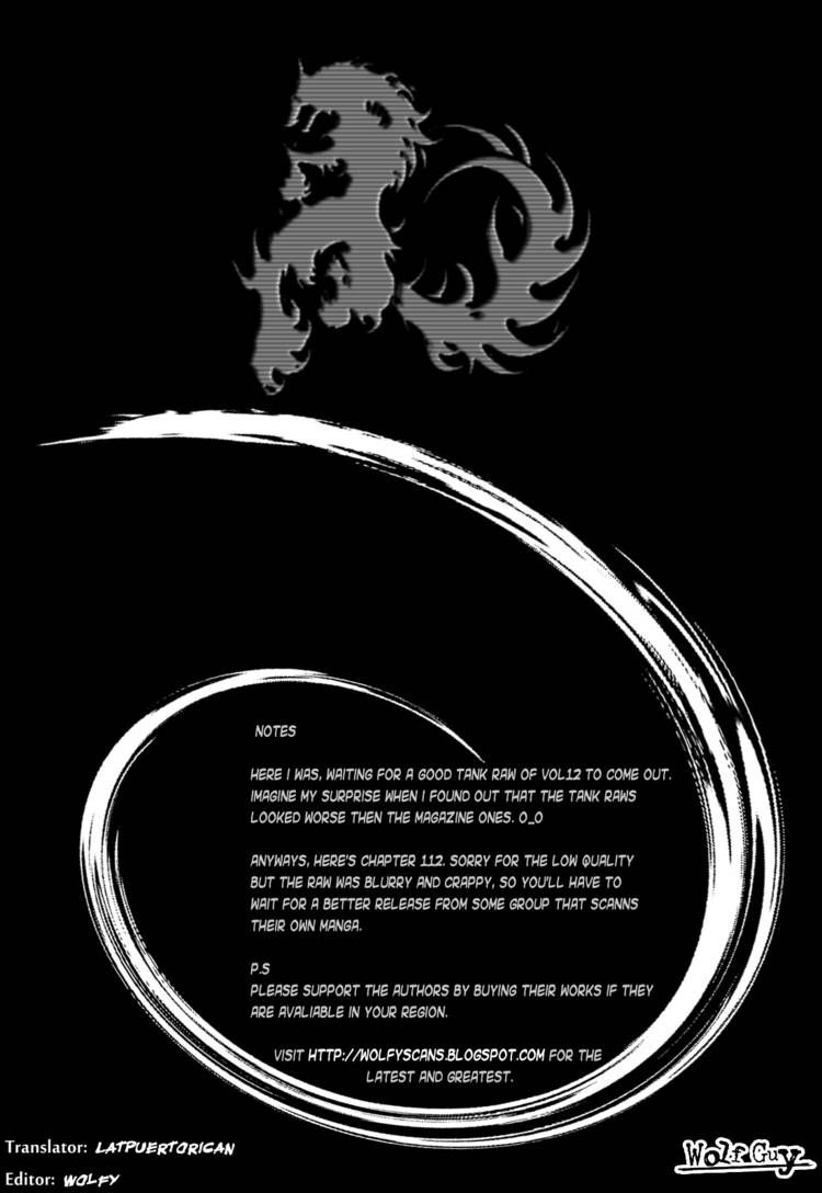 Wolf Guy - Ookami no Monshou 112 Page 1