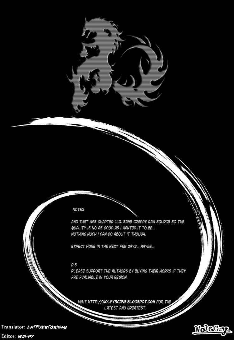 Wolf Guy - Ookami no Monshou 113 Page 1