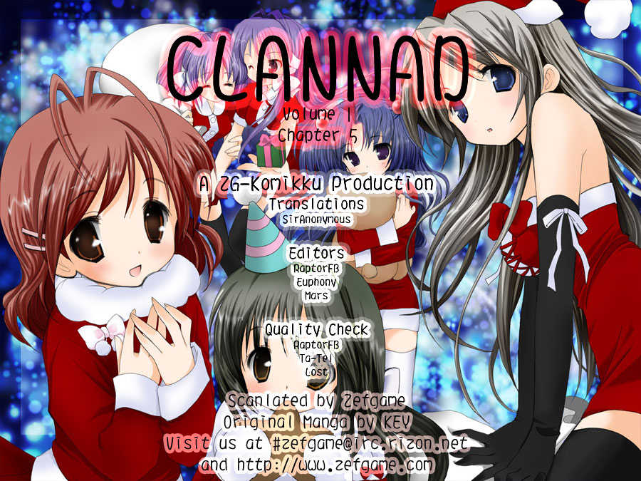 Clannad 5 Page 1