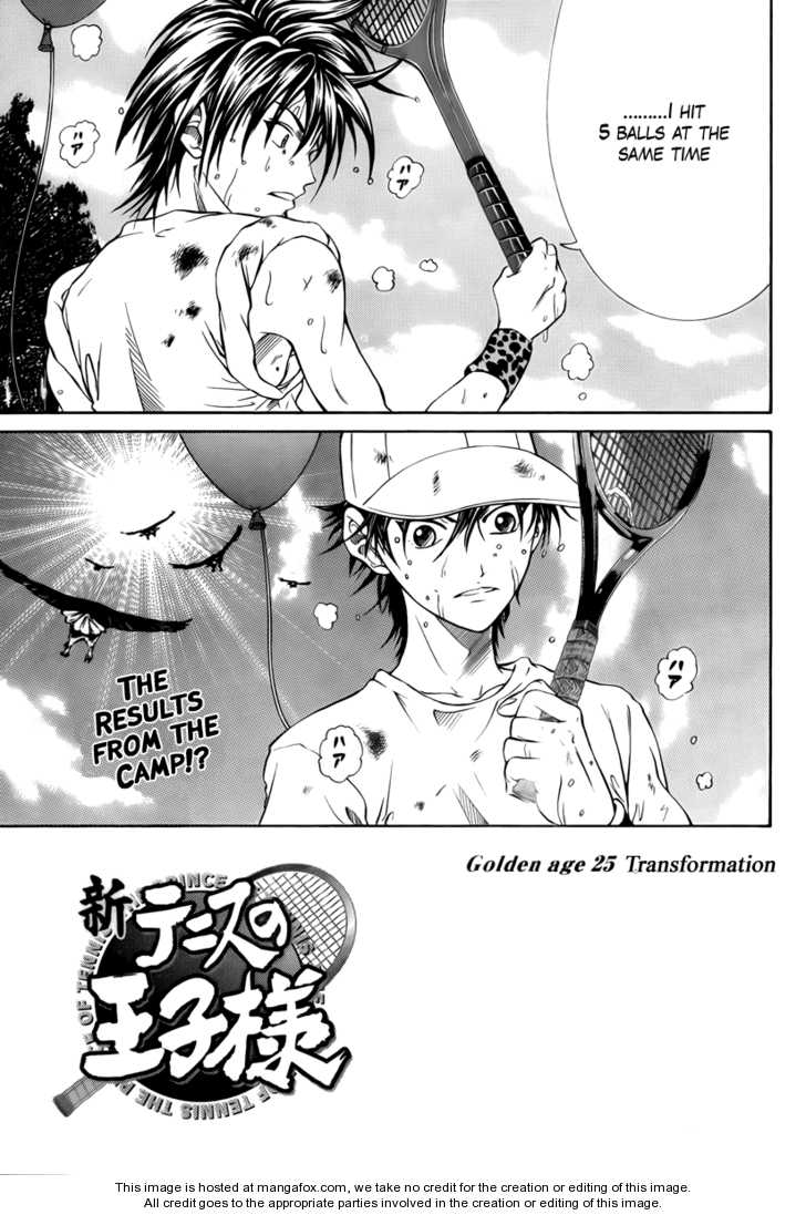 New Prince of Tennis 25 Page 1