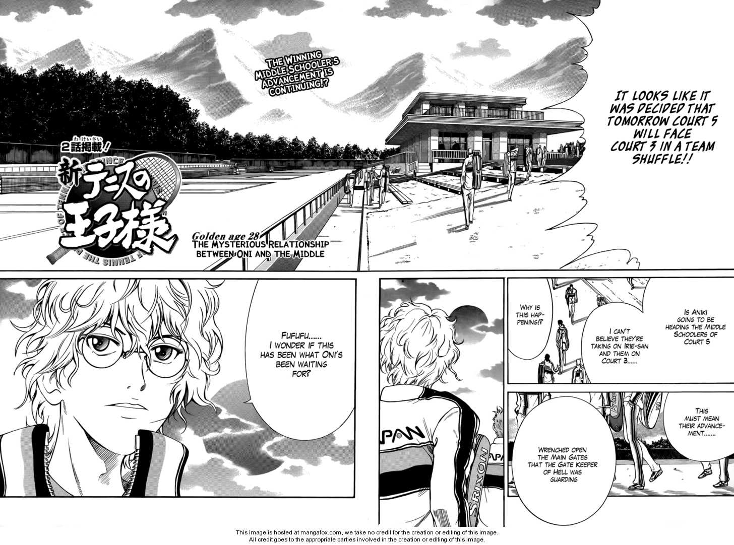 New Prince of Tennis 28 Page 1