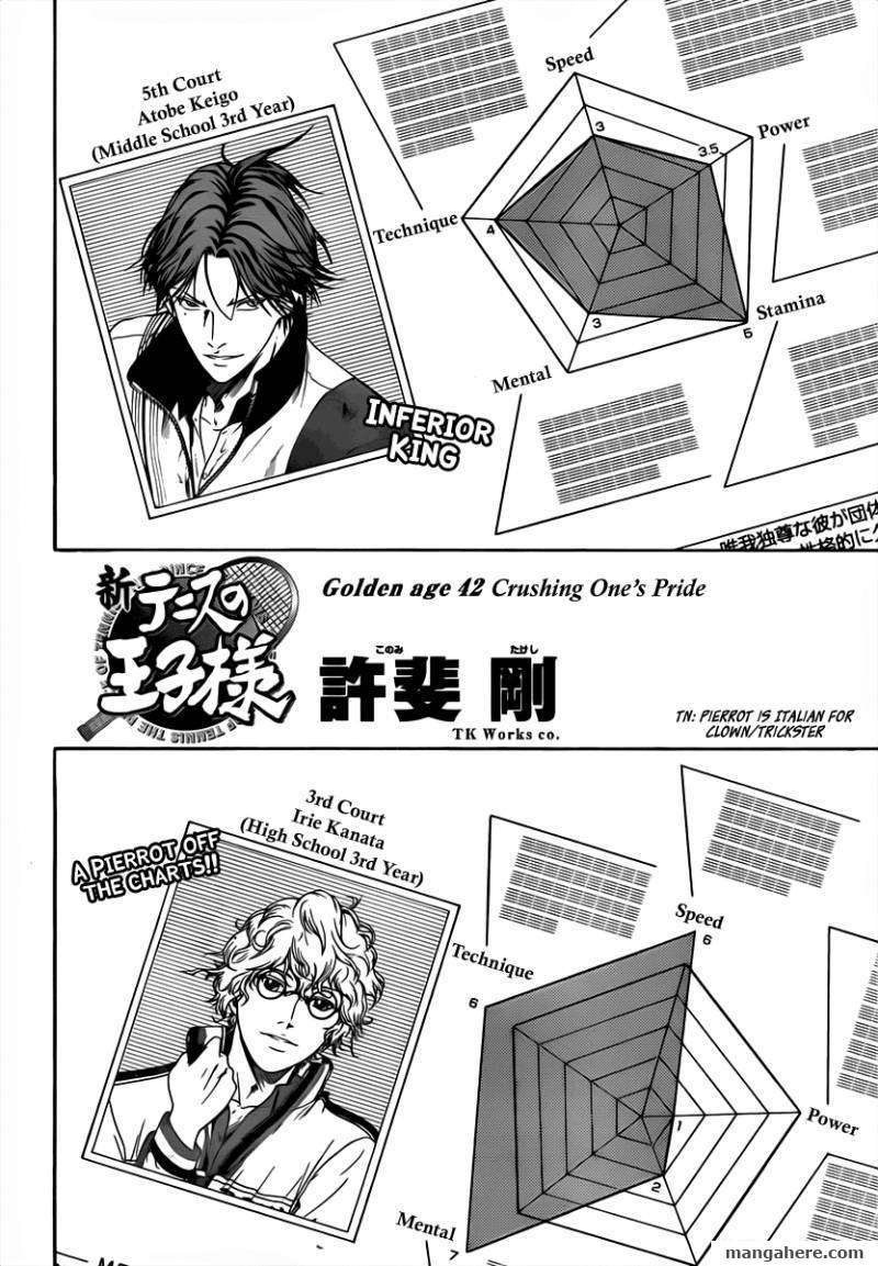 New Prince of Tennis 42 Page 2