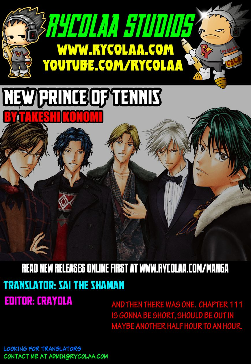 New Prince of Tennis 110 Page 1