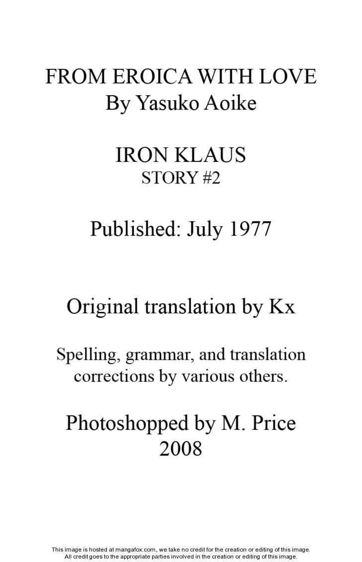 Eroica Yori Ai wo Komete 2.1 Page 2