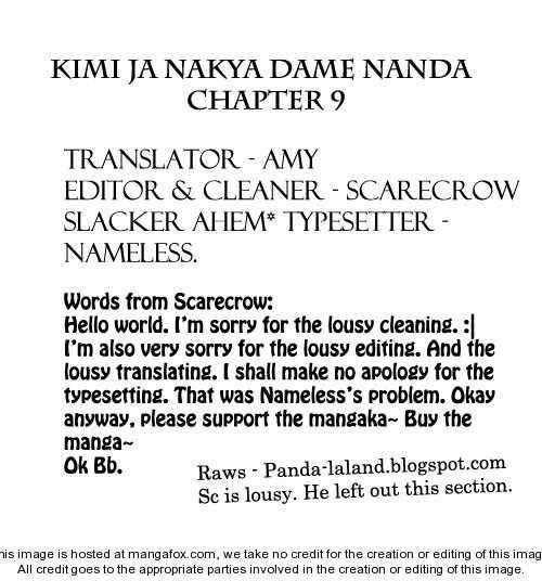 Kimi ja Nakya Dame Nanda 9 Page 1