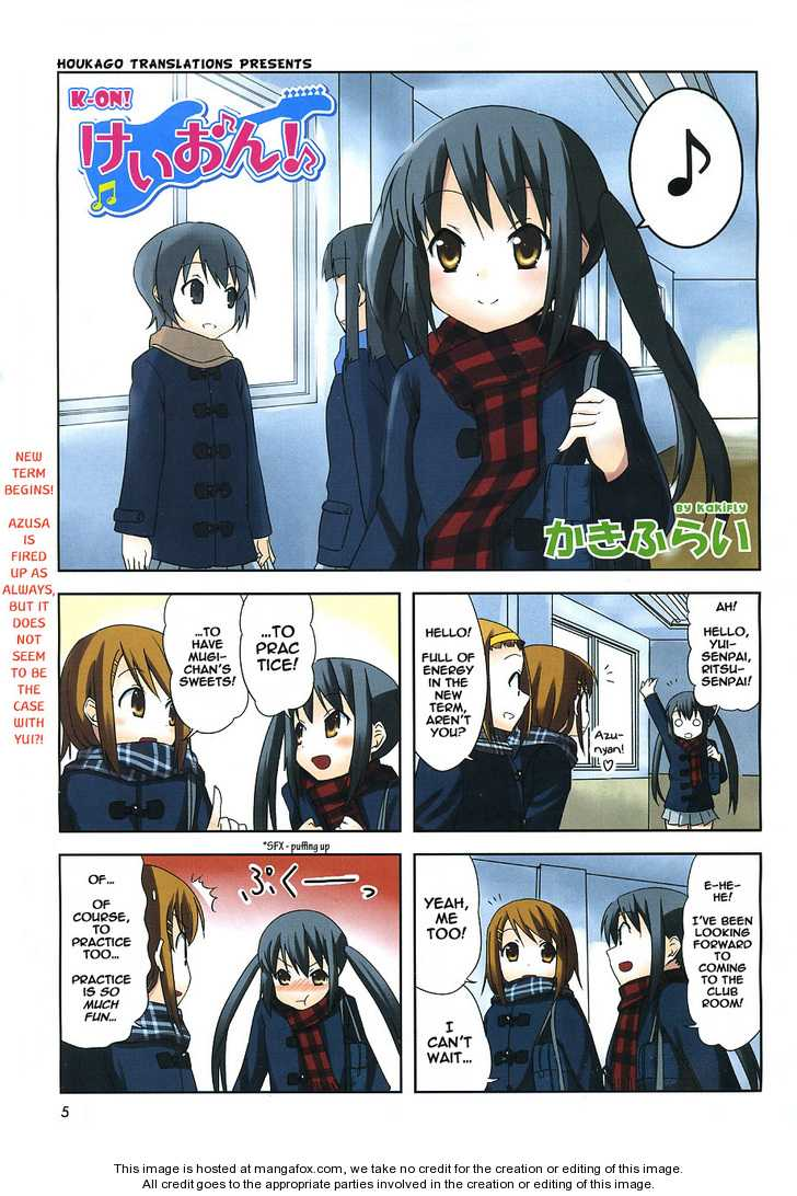 K-ON! 1 Page 1