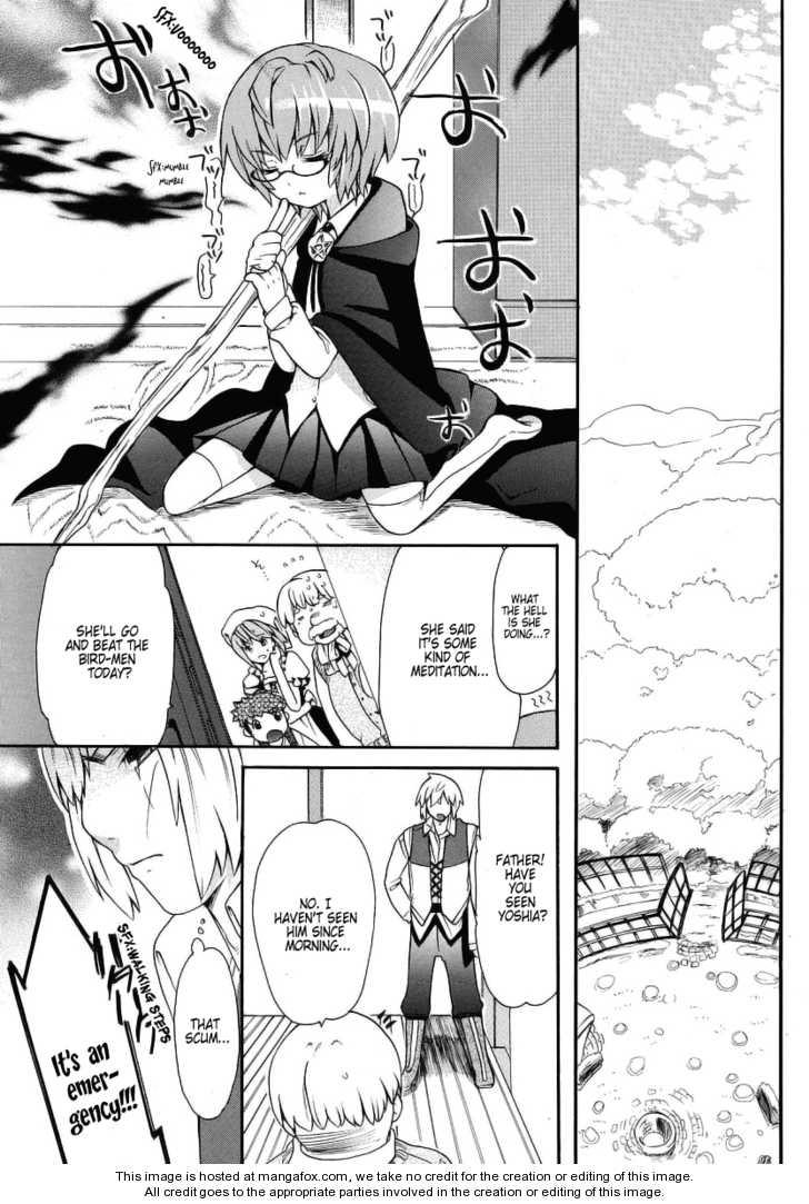 Zero no Tsukaima Gaiden: Tabasa no Bouken 3 Page 3