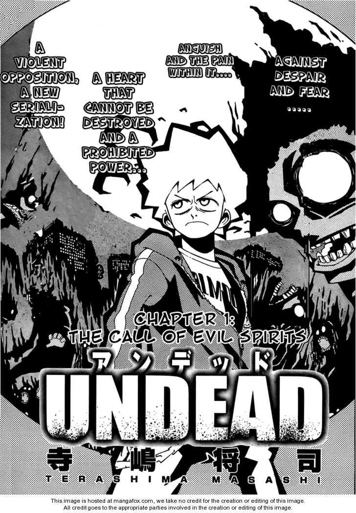 Undead (TERASHIMA Masashi) 1 Page 2