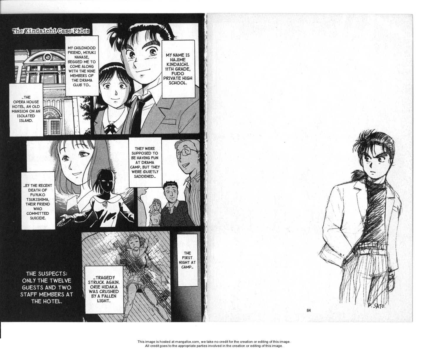 Kindaichi Shounen no Jikenbo 2 Page 1