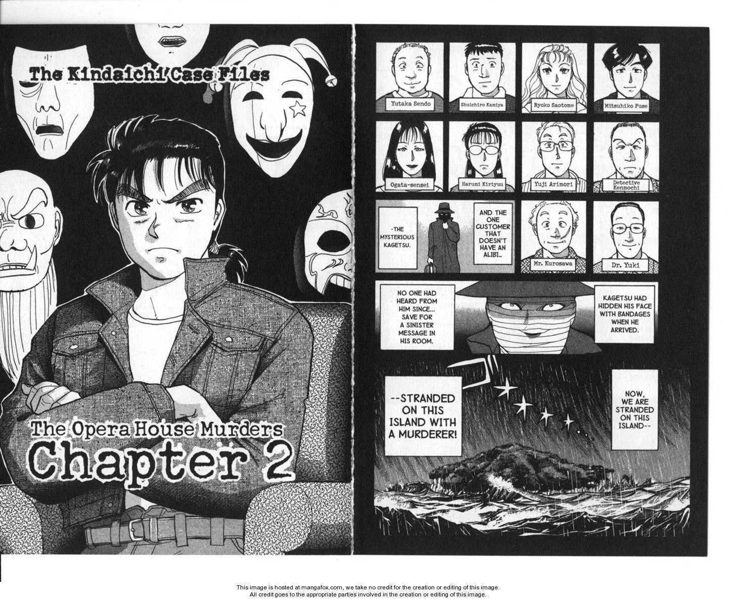 Kindaichi Shounen no Jikenbo 2 Page 2