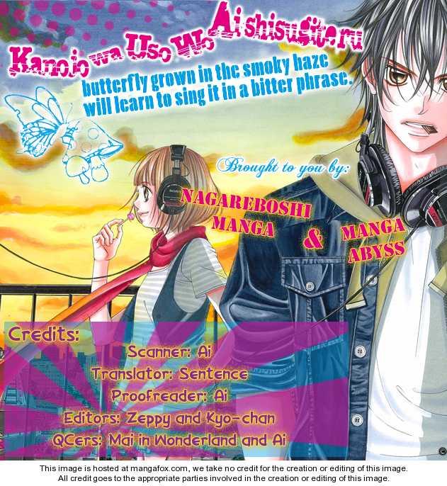 Kanojo wa Uso wo Aishisugiteru 2 Page 1