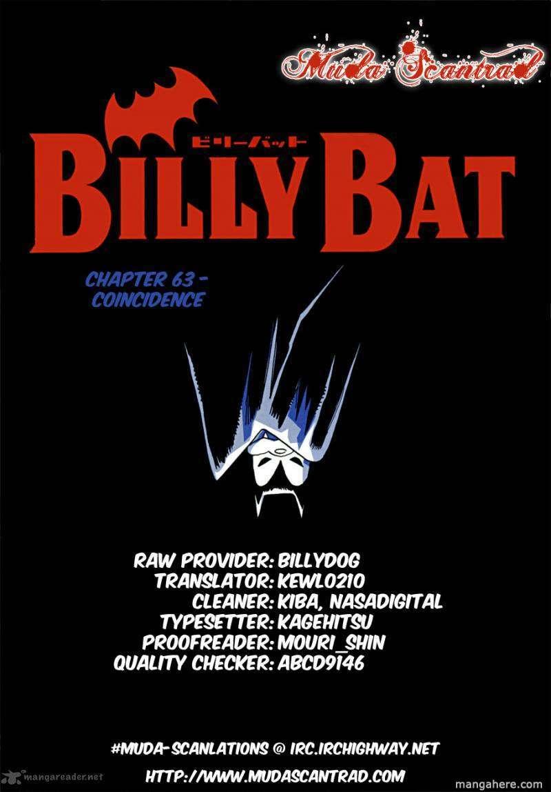 Billy Bat 63 Page 1