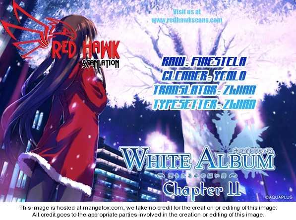 White Album (ABENO Chako) 11 Page 1