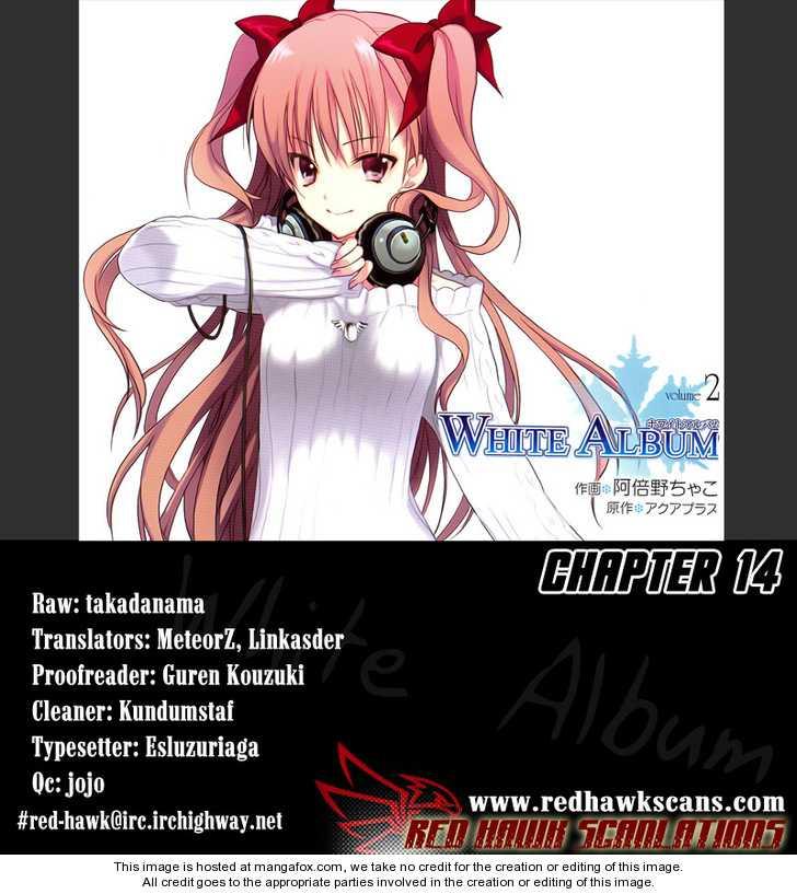 White Album (ABENO Chako) 14 Page 1
