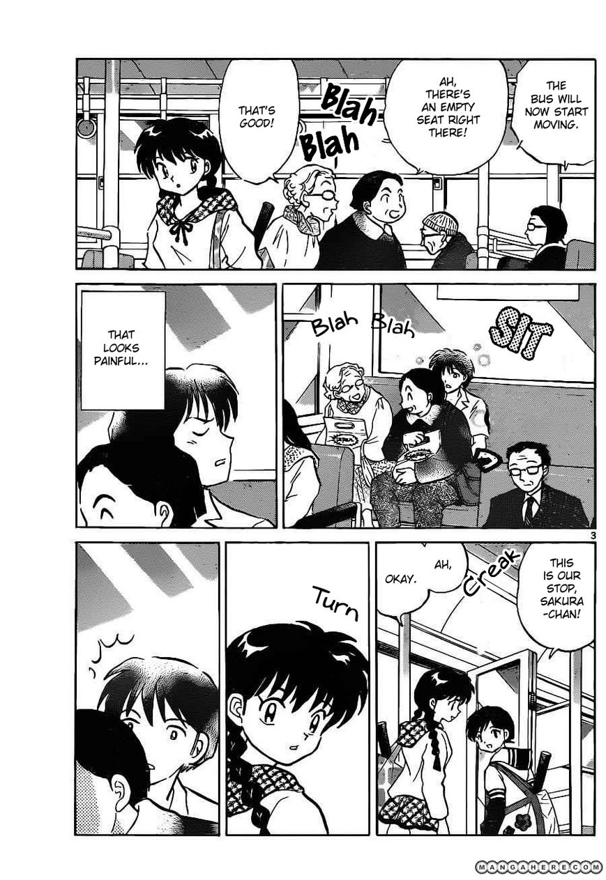 Kyoukai no Rinne 91 Page 3