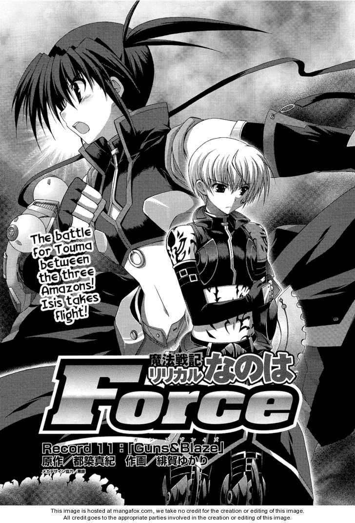 Mahou Senki Lyrical Nanoha Force 11 Page 2
