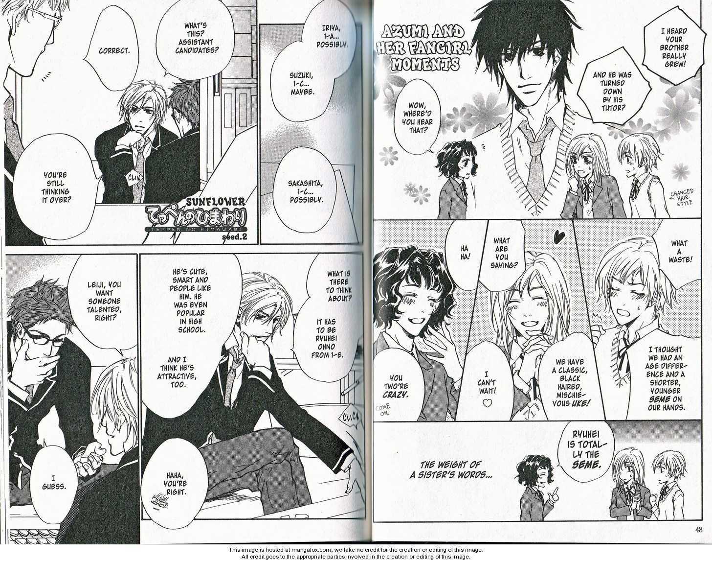 Teppen no Himawari 2 Page 1
