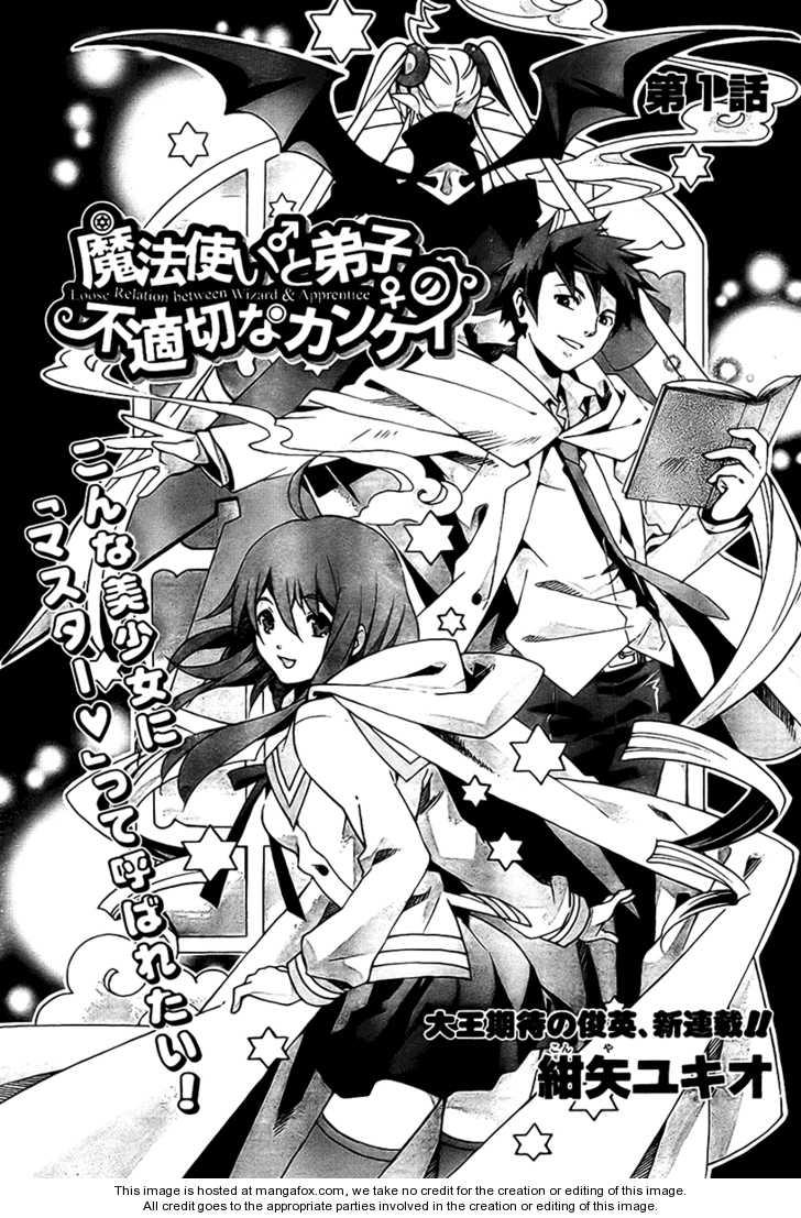 Mahoutsukai to Deshi no Futekisetsu na Kankei 1 Page 2