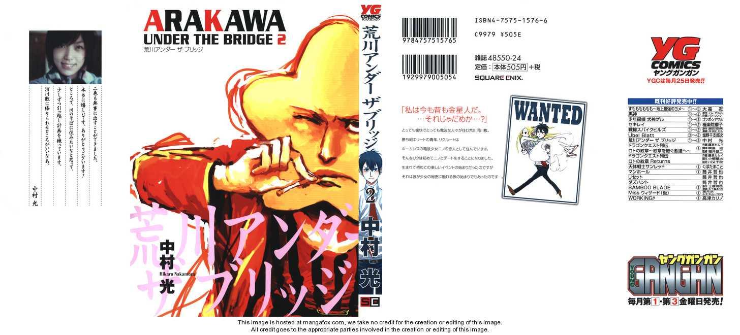 Arakawa Under the Bridge 24 Page 1