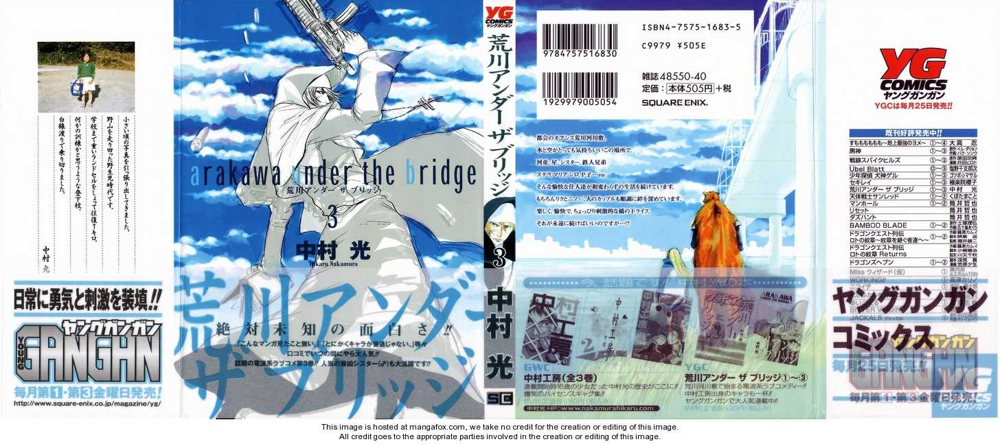 Arakawa Under the Bridge 48 Page 1