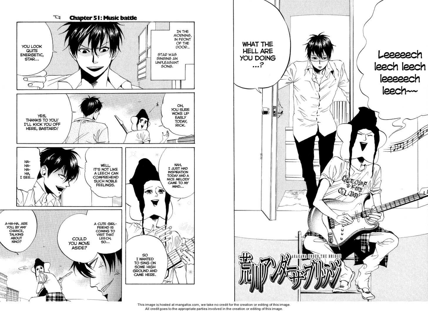Arakawa Under the Bridge 51 Page 1