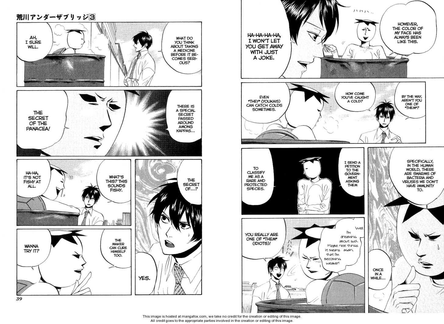 Arakawa Under the Bridge 54 Page 2