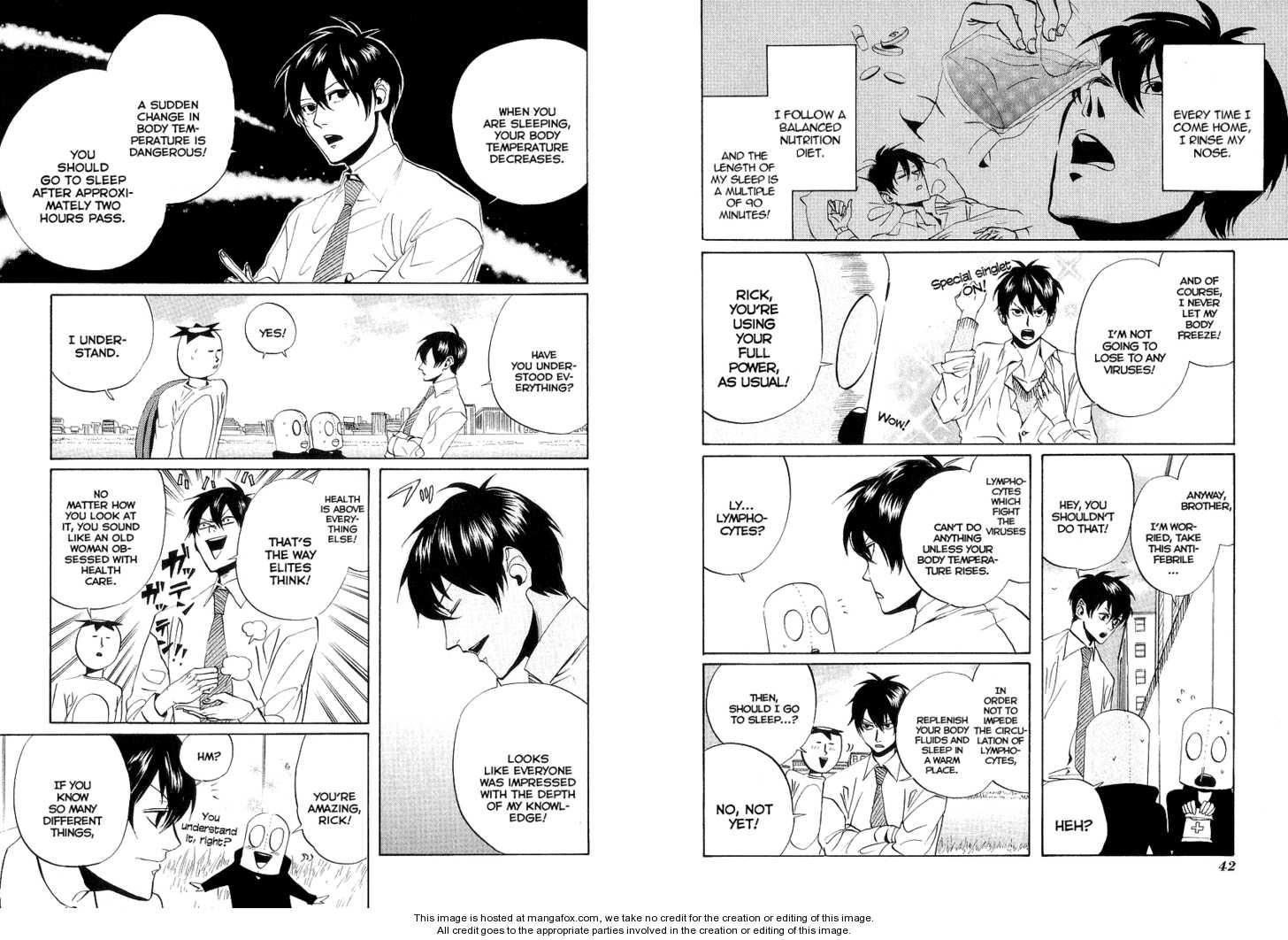 Arakawa Under the Bridge 55 Page 2