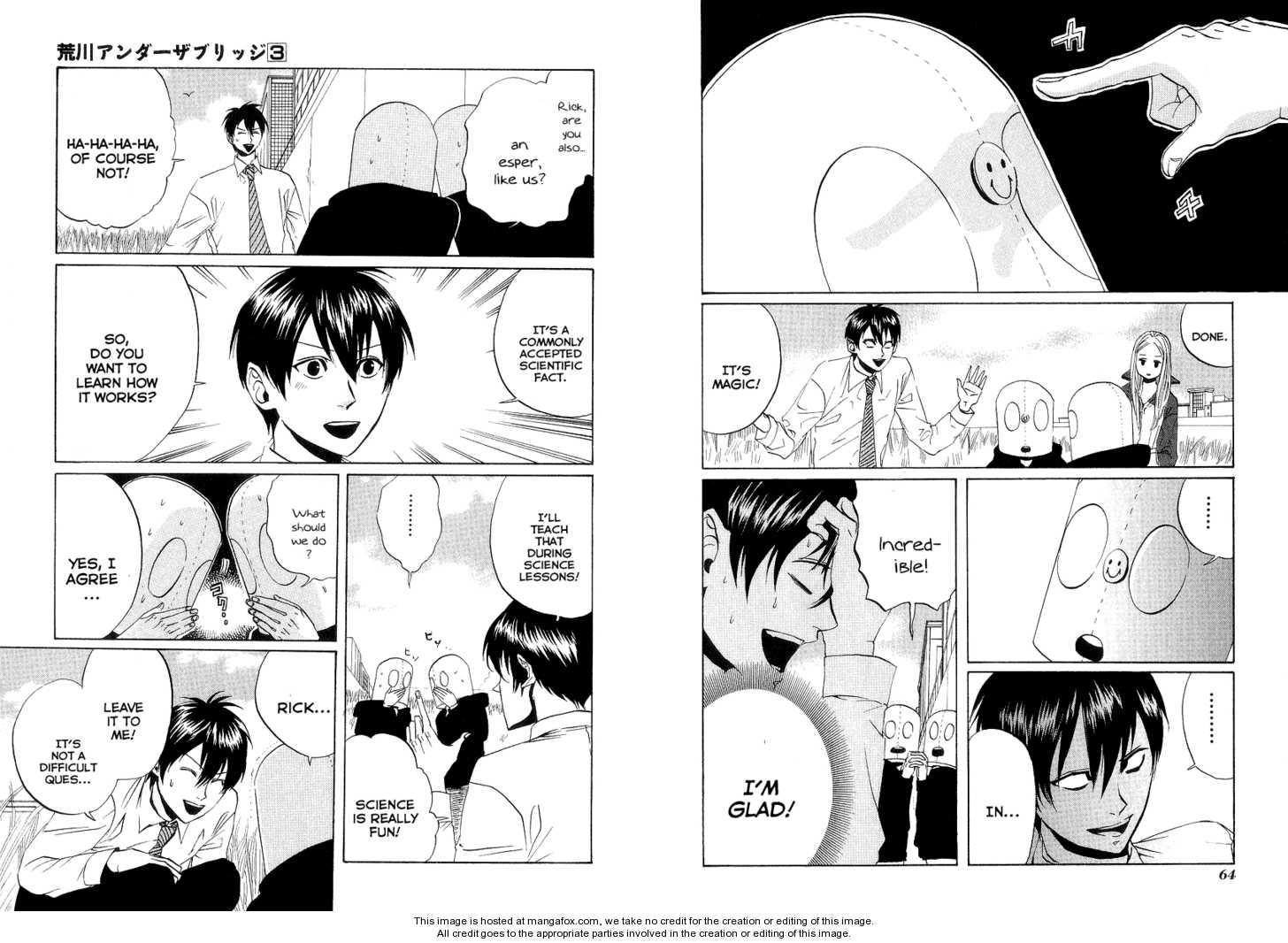 Arakawa Under the Bridge 59 Page 2