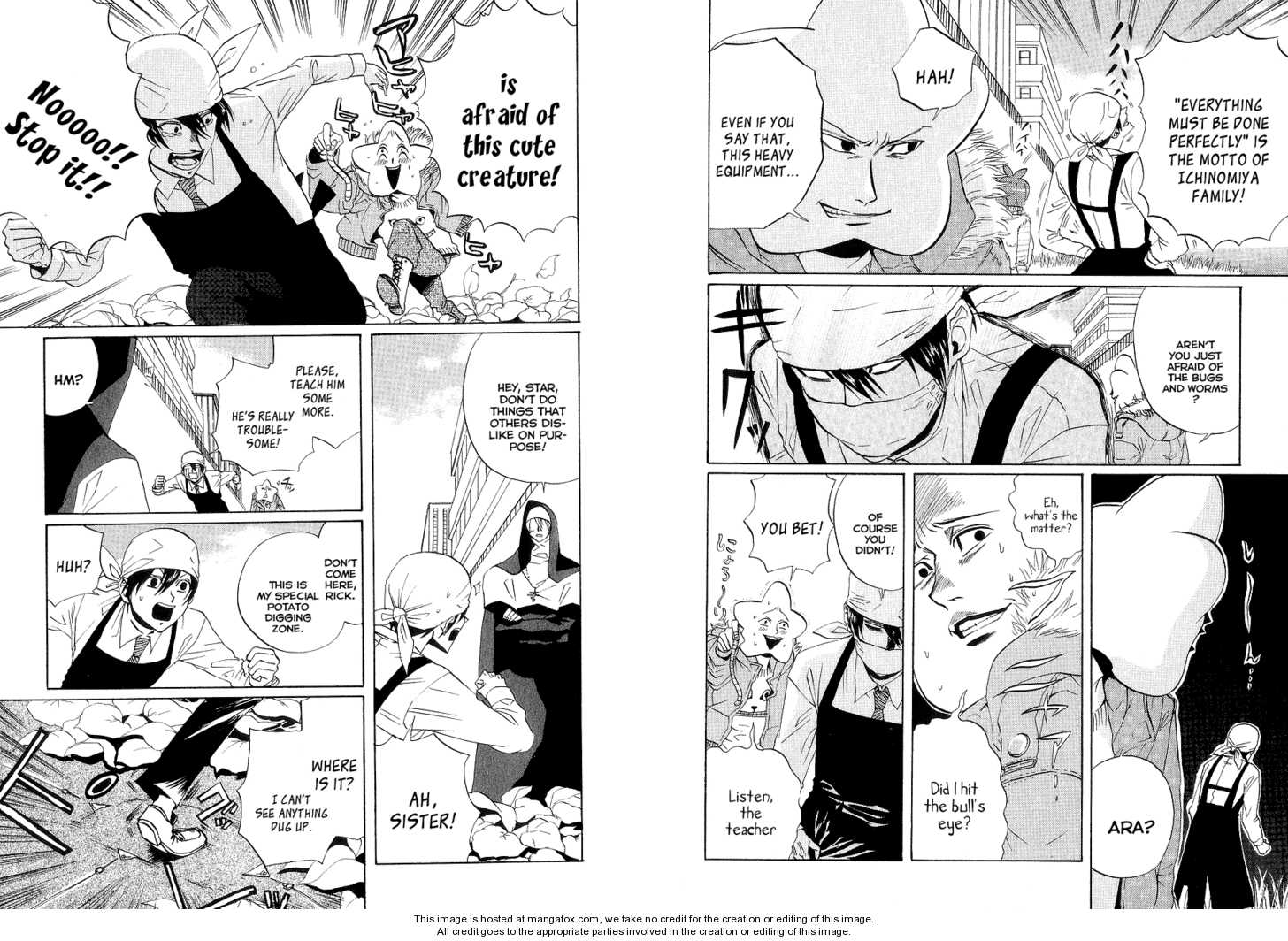 Arakawa Under the Bridge 63 Page 2