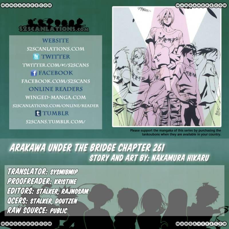 Arakawa Under the Bridge 261 Page 1