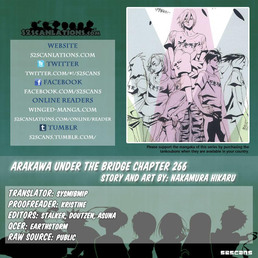 Arakawa Under the Bridge 266 Page 1