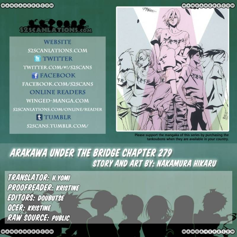 Arakawa Under the Bridge 279 Page 1