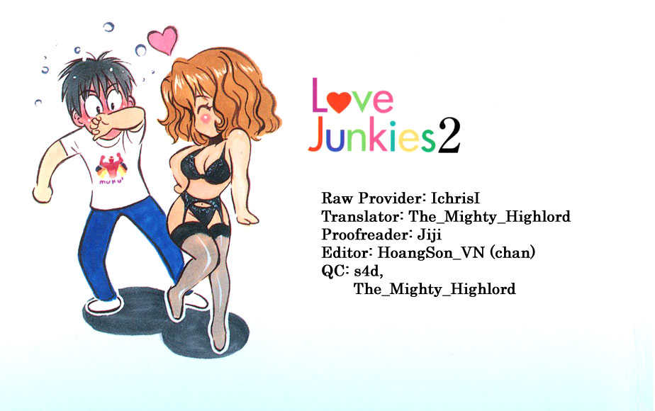 Love Junkies 14 Page 1