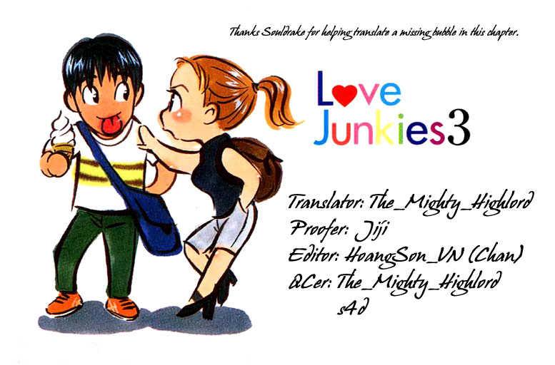 Love Junkies 22 Page 1