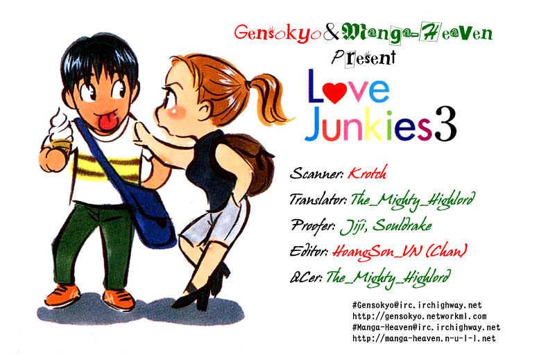 Love Junkies 25 Page 1