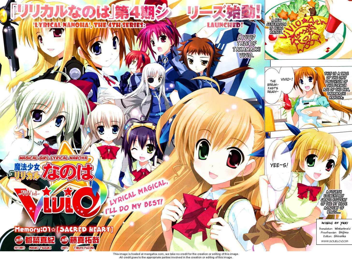 Magical Girl Lyrical Nanoha ViVid 1 Page 2