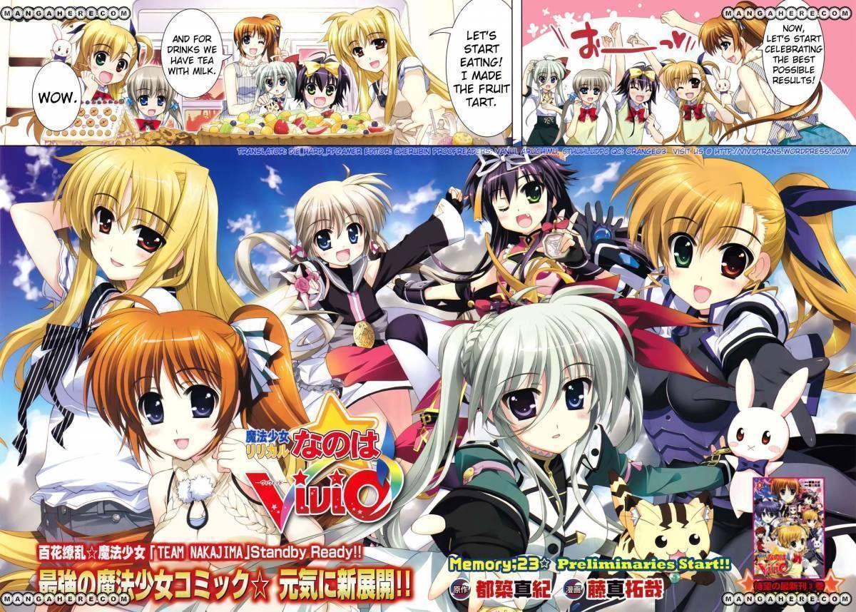 Magical Girl Lyrical Nanoha ViVid 23 Page 2