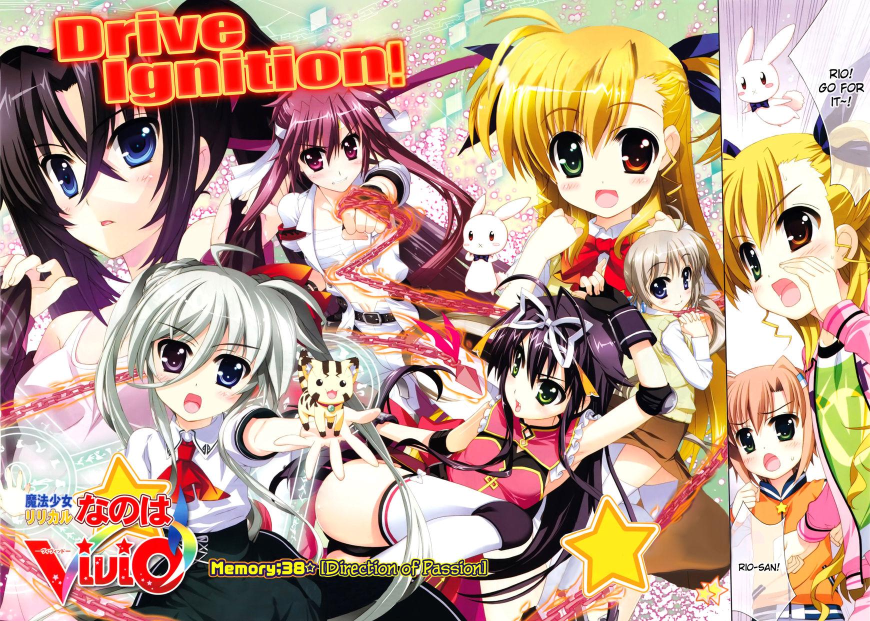Magical Girl Lyrical Nanoha ViVid 38 Page 2