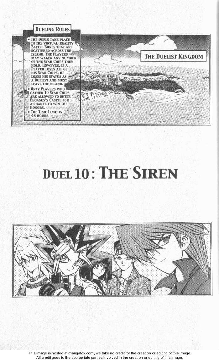 Yu-Gi-Oh! Duelist 10 Page 1