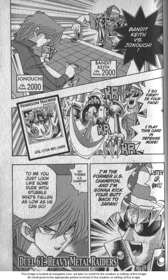 Yu-Gi-Oh! Duelist 61 Page 1