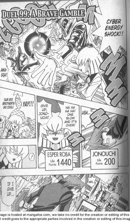 Yu-Gi-Oh! Duelist 99 Page 1