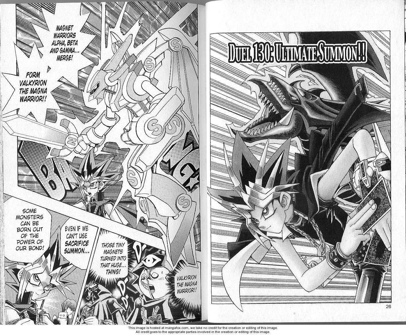 Yu-Gi-Oh! Duelist 130 Page 1