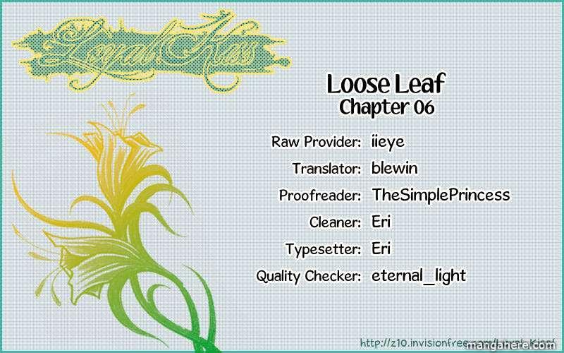 Loose Leaf 6 Page 2