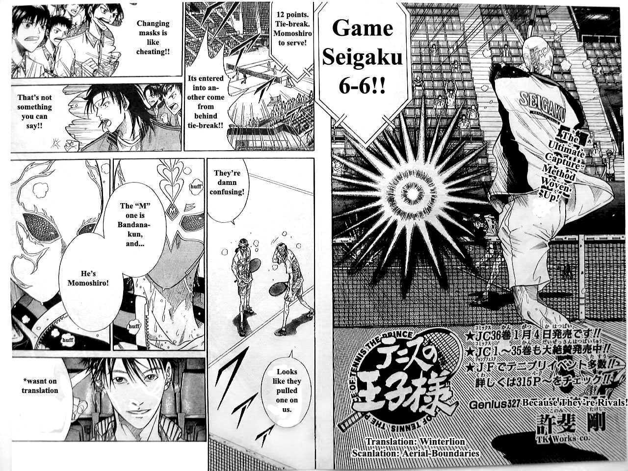 Prince of Tennis 327 Page 2