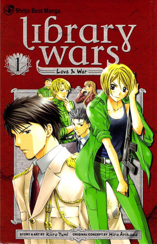 Toshokan Sensou: Love & War 1 Page 1