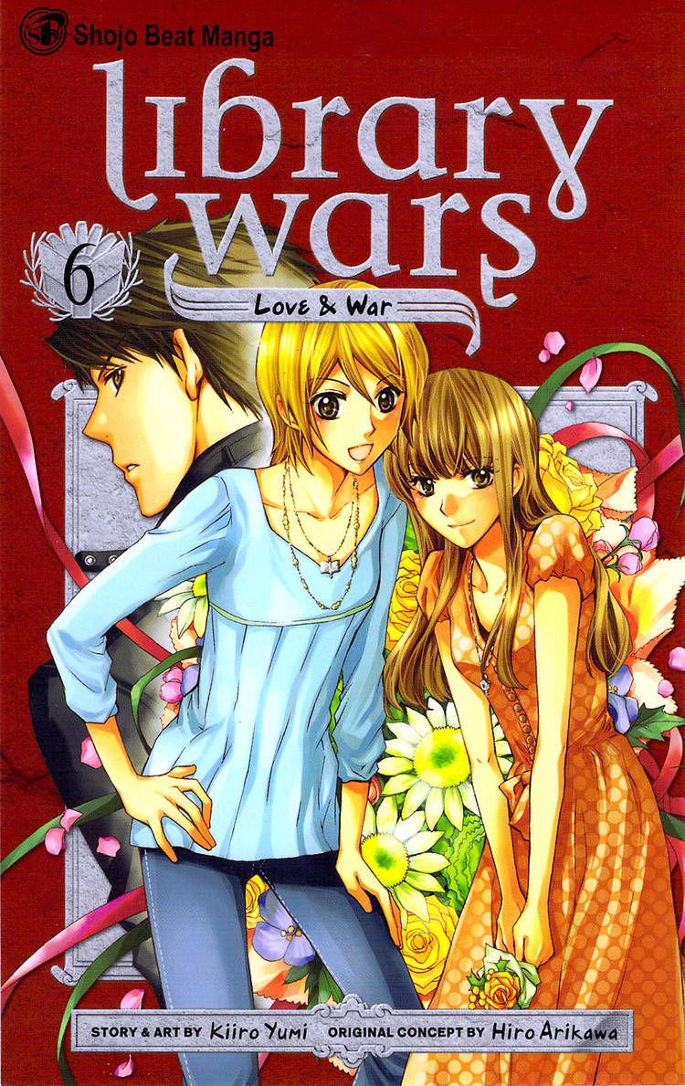 Toshokan Sensou: Love & War 24 Page 1
