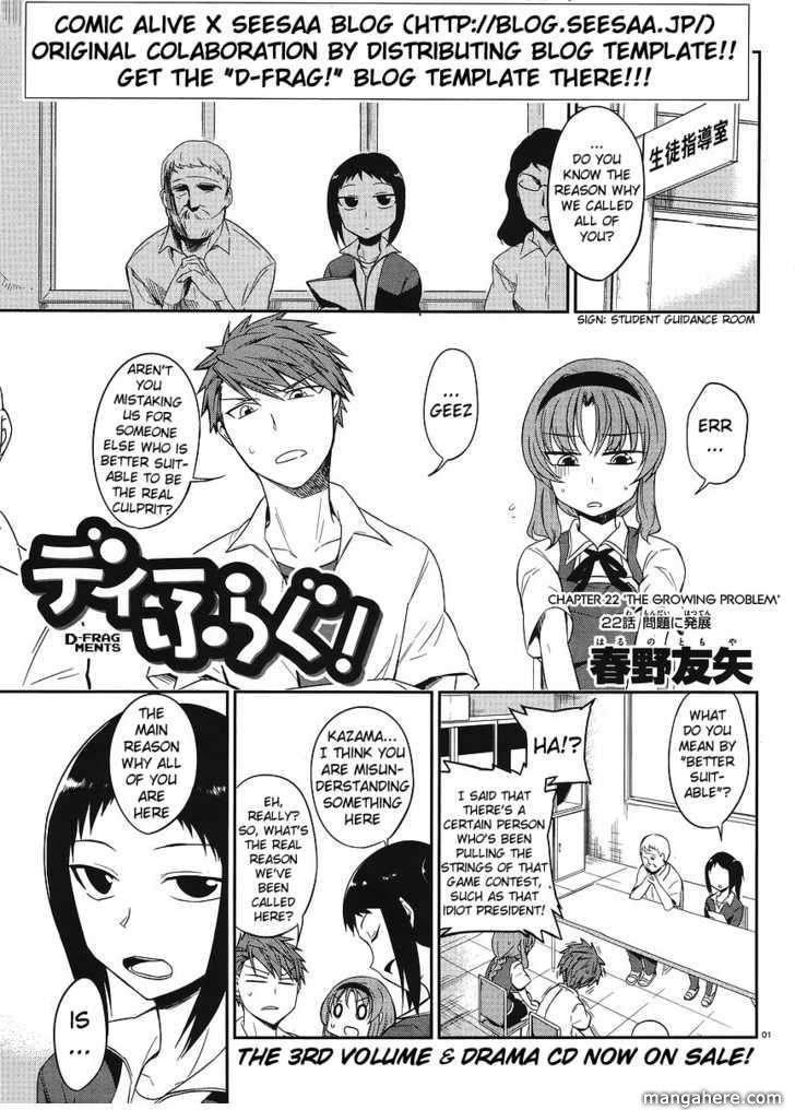D-Frag 22 Page 1