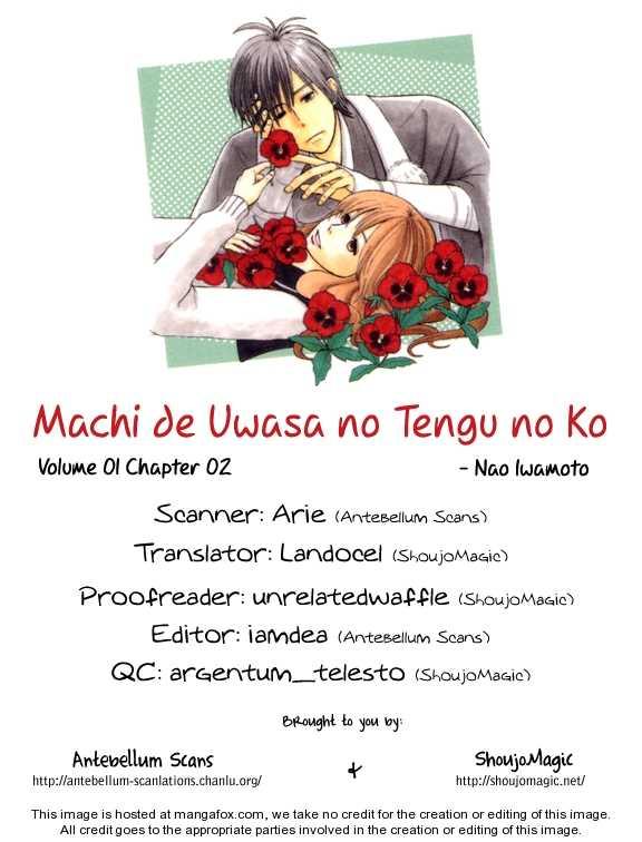 Machi de Uwasa no Tengu no Ko 2 Page 1